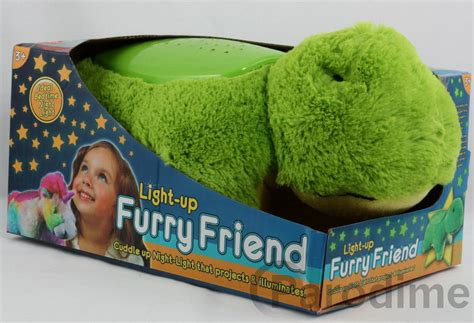 cuddly animal night light projector furry friend cuddly animal kids toy cuddle pet pillow