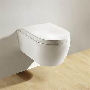 Hänge Wc : soho h nge wand wc rimless randlos toilette brillant weiss mit wc sitz badkeramik wc keramik ~ Eleganceandgraceweddings.com Haus und Dekorationen