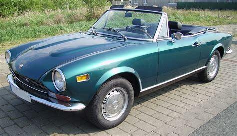 Fiat 124 Sport Spider by Fiat 124 Sport Spider