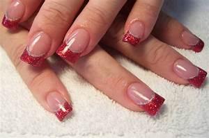 65 most beautiful glitter nail designs