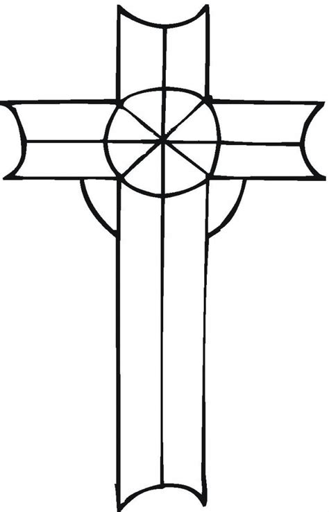 printable cross coloring pages  kids
