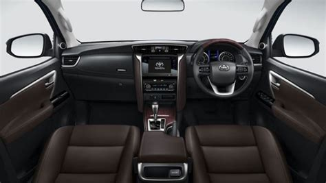 toyota fortuner interior   suvs