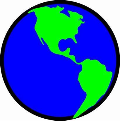 Earth Clipart Clip Simple Transparent Cliparts Cartoon