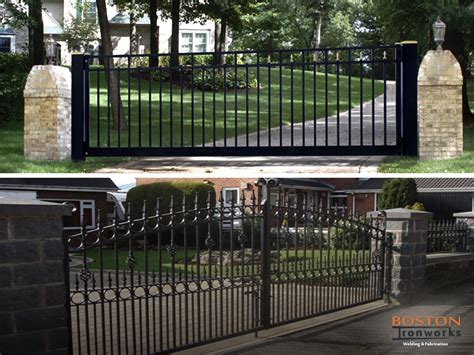 kinds of gates photos different types of driveway gates available in the market today boston ironworks staircases