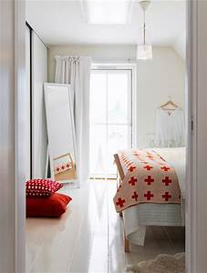 White Bedroom With Pop Of Color | www.imgkid.com - The ...