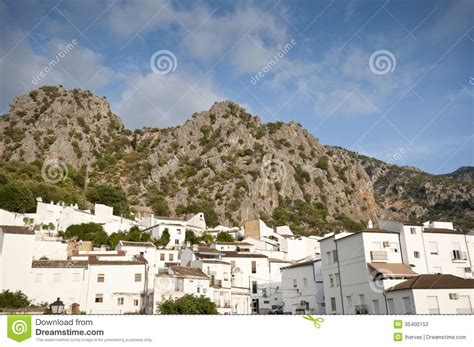 home building plans views of ubrique stock photography image 35400152