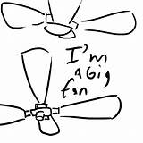 Fan Ceiling Drawing Clipart Clip Line Cliparts Drawings Getdrawings Library sketch template