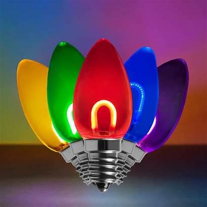 Led C7 Bulbs Multicolor Christmas Shatterproof Bulb