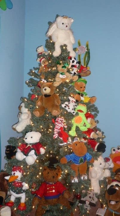 teddy bear christmas tree for the grandchildren crafty things pinterest trees christmas