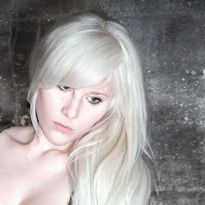 White Color Hair by How To Dye Hair White