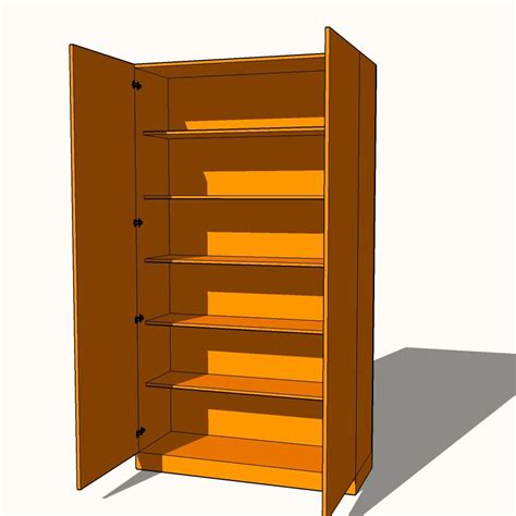 Wardrobe With Shelves Only by Wardrobe Fully Shelved 5 X Fixed Shelves