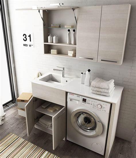 lavatoio porta lavatrice mobili da bagno moderni collezione lavanderia