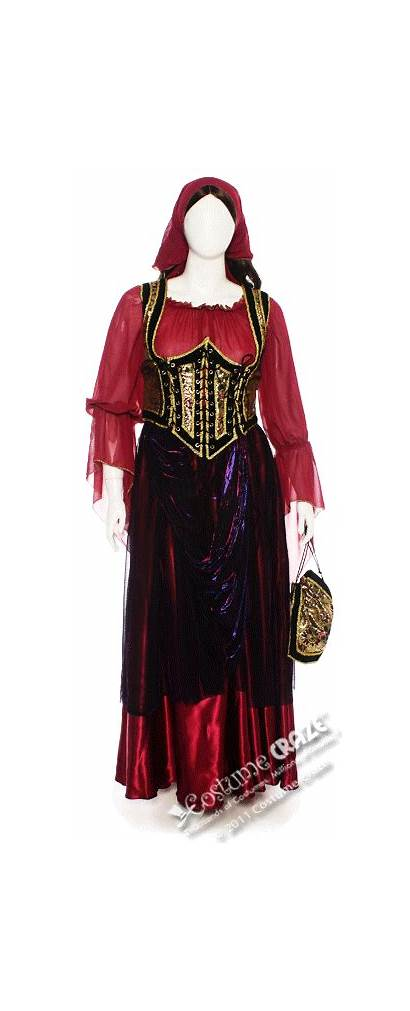 Renaissance Gypsy Costume Clothing Wench Medieval Costumes