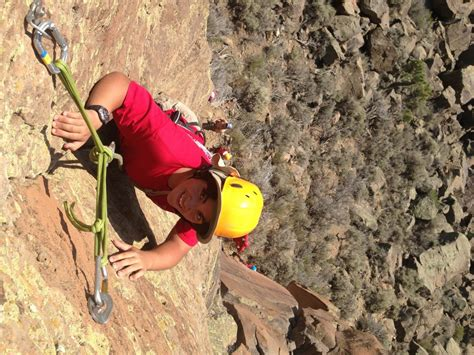 Boy Scouts America Merit Badge Mountain Skills Rock