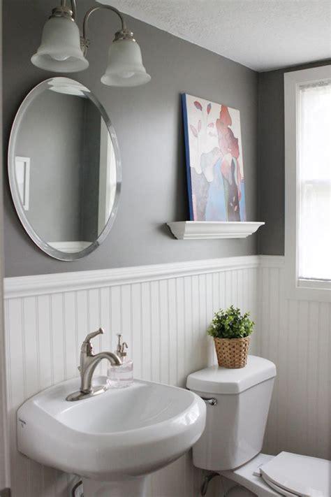 half bathroom ideas gray 17 best ideas about bead board wallpaper on