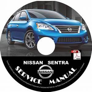 2013 Nissan Sentra Factory Oem Service Repair Shop Manual