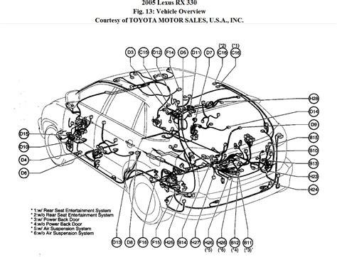 Lexu Rx330 Engine Diagram by 2005 Lexus Es330 Engine Diagram Wiring Library