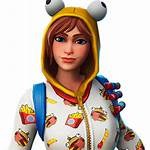 Fortnite Onesie Icon Transparent Character 3d Skin