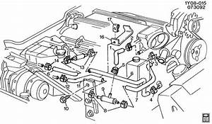 1994 Chevrolet Corvette Valve  Heater Coolant Flow  Valve