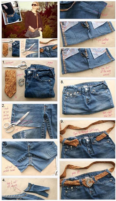 wonderful diy crossbody bag   jeans