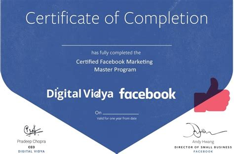Best Digital Marketing Certificate by Certified Marketing Course Digital Vidya