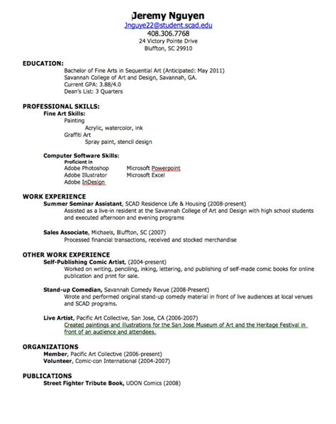 How Do I Create A Resume by How To Create A Resume Out Of Darkness