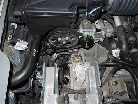 Installation Of Water Pump 02 Jaguar X Type