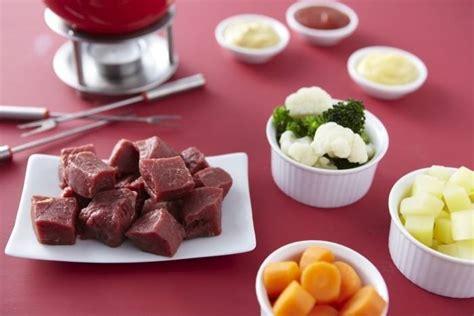 cuisine bourguignonne recette de fondue bourguignonne facile et rapide