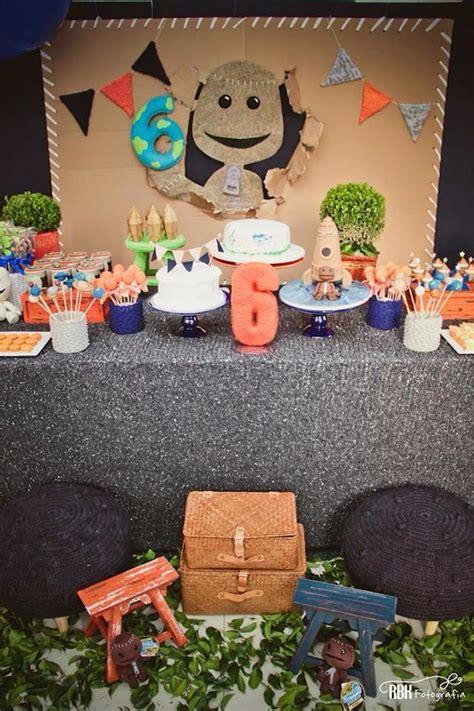 karas party ideas  bog planet sixth birthday party