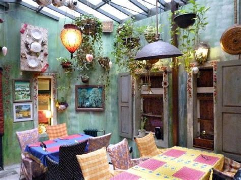 Cottage Style Restaurants by Restaruant Gitanes Interesting Decor Ambience
