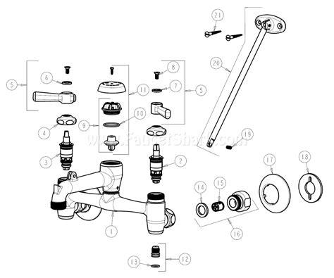 Faucet Parts by Chicago Faucets 897 Ccp Parts