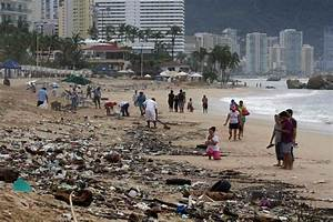 Mexico Storms  Tropical Storm Manuel And Hurricane Ingrid