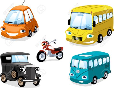 Bus Clipart Means Transport