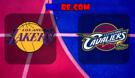 cleveland cavaliers  los angeles lakers nba full games