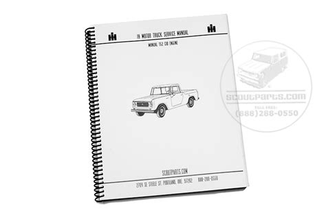 62 International Scout 80 Wiring Diagram by Scout 80 Scout 800 Manual 152 Cid Engine Transmission
