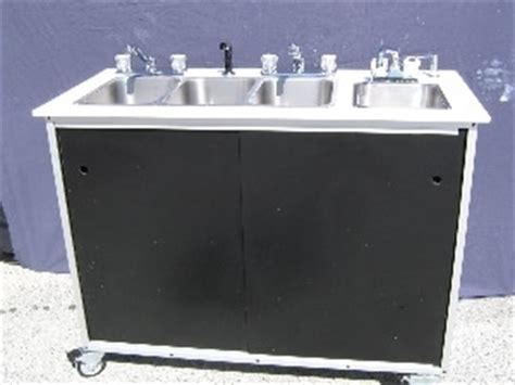poly john portable sink ps14 1000 polyjohn portable handwashing sink 4 users