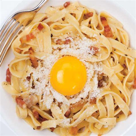 la cuisine italienne recettes pâtes carbonara ricardo