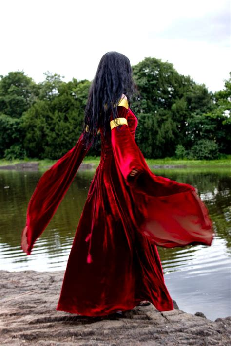 squiffy fashion robe de la belle fee morgane