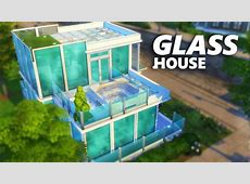 The Sims 4 Build Glass House YouTube