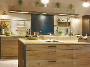 deco cuisine bois naturel With deco bois cuisine