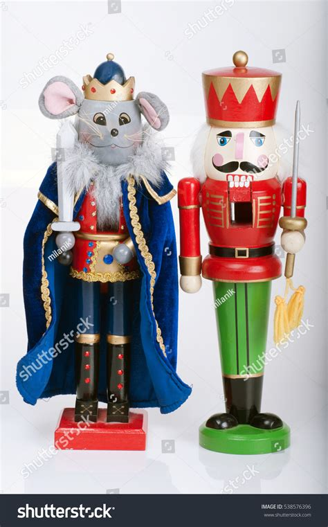the nutcracker toys decoration nutcracker mouse king stock photo 538576396