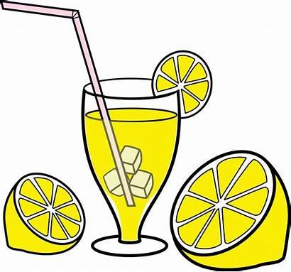 Lemonade Clipart Tea Drink Clip Transparent Plant