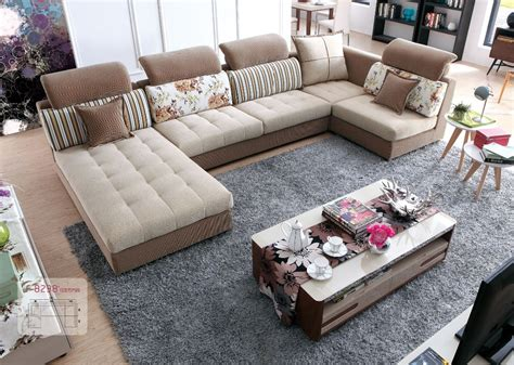 canape rustique lizz tissu modulaire salon et canapé costumes u en forme
