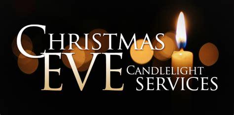 christmas eve candlelight service  pm st luke