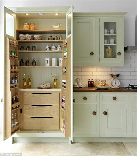 storage furniture for kitchen smarten up your kitchen storage with a fancy pantry daily mail