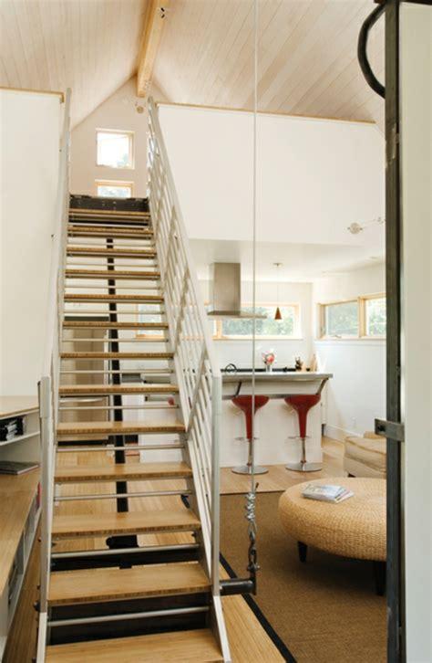 Treppen Für Kleine Räume by Platzsparende Treppen 32 Innovative Ideen