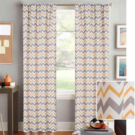 Walmart Yellow Chevron Curtains by Chevron Yellow Curtains Panels Curtain Menzilperde Net