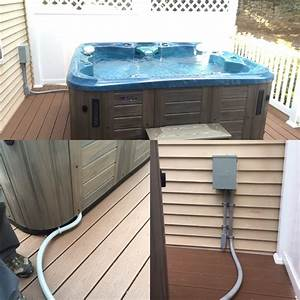 Hot Tub Wiring
