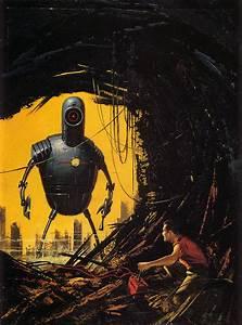 fantastic vintage science fiction art - a photo on Flickriver