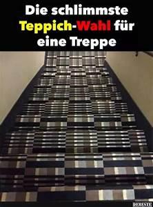 Teppich Für Treppe : die schlimmste teppich wahl f r eine treppe lustige bilder spr che witze echt lustig ~ Orissabook.com Haus und Dekorationen
